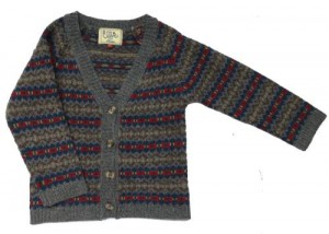 Child's fairisle cardigan