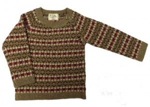 Child's fairisle jumper