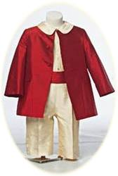 Page Boy Suit in red