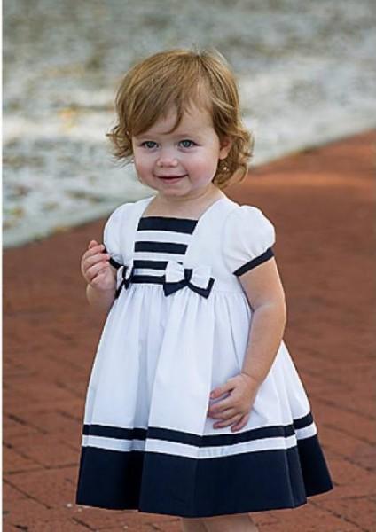 Little girl's sailor dress
