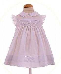 Baby girls hand-smocked dress