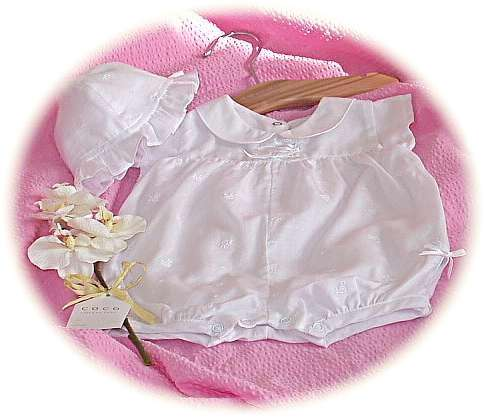 Baby's cotton romper
