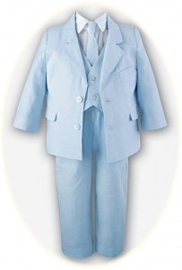 Little boy's 5 piece summer suit