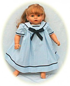 Little Girl's sailor dress