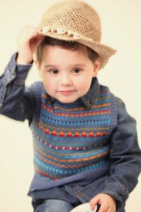 Child's fairisle tank top