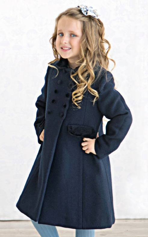 Girls' traditional coats made in Spain