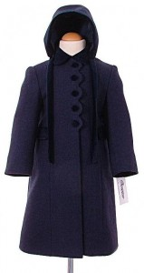 Girl's traditional winter coats