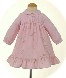 Baby's winter dresses from Abella