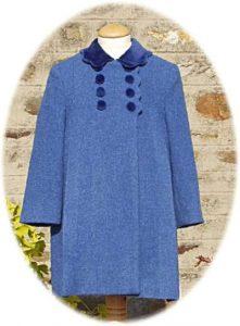 Girl's classic coat