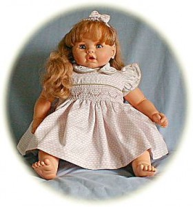 Baby's hand-smocked dress