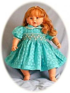Hand smocked baby's dress