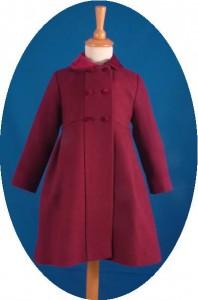 Girl's traditional winter coat
