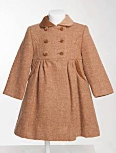 Little girl's traditional coat