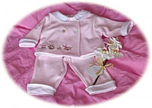 Baby's warm suit