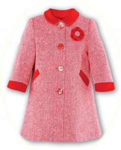 Girl's smart coat from Sarah Louise