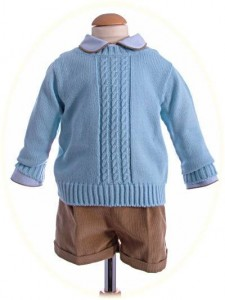 Boy's winter suit and pullover