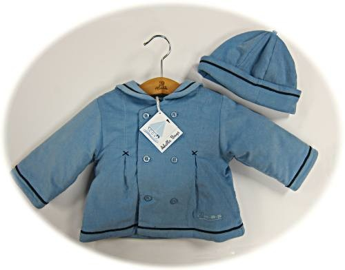 ef1aa4178 Baby boy s jacket and hat from Abella