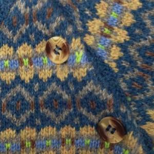Close up of fairisle