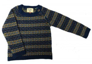 Child's fairisle jumper