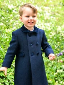 "Joshua from England. A handsome young man looking very smart in his ""Philip"" coat."