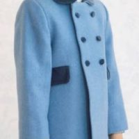 Child's classic wool winter coat