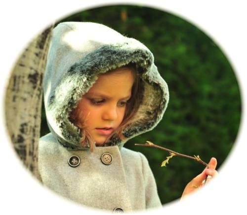 Girl's coats with hoods