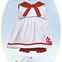 Toddler's sailor dress