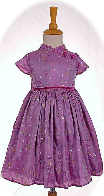Party dress for a little girl