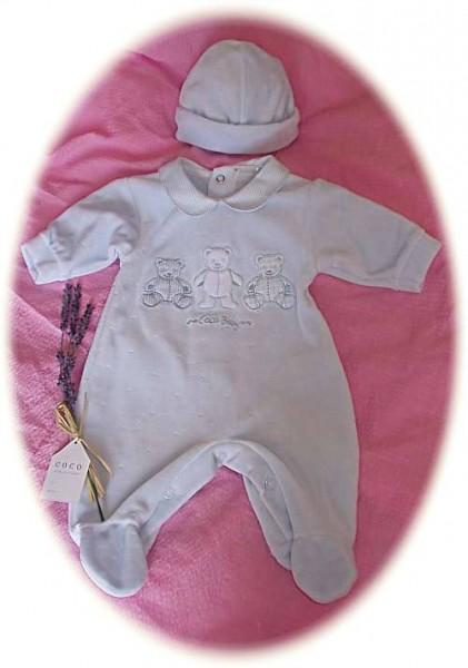 Baby's velour suit