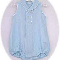 Baby boy's romper suit