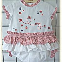 Baby's summer top and pants