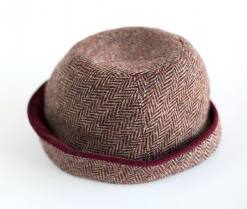 Girl's Donegal tweed hat