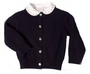 Child's cashmere cardigan - blouse not included