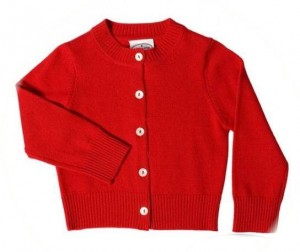 Child's cashmere cardigan