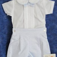 Baby boy's cotton suit