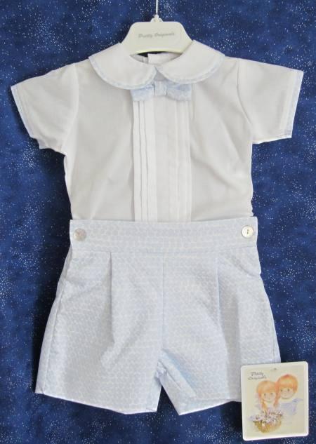 Baby boy's cotton suit