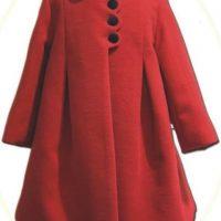 Girl's winter coat and hat