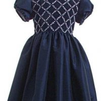 Child's smocked party dress