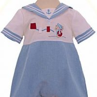 Baby's sailor rompers