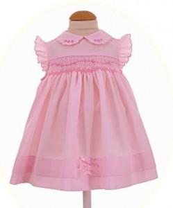 Dress for a newborn baby