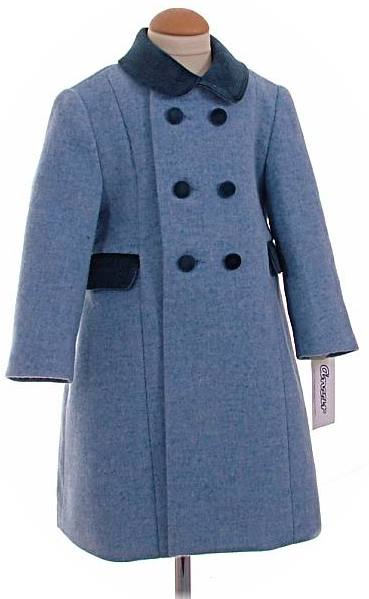 Classic Children S Coats For Girl S And Boys Made In Spain