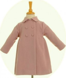 Girls' wool coats