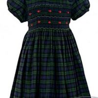 toddler's tartan dress