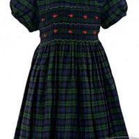 toddler's tartan dress