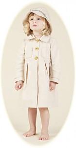 Girl's coat and hat from Hucklebones