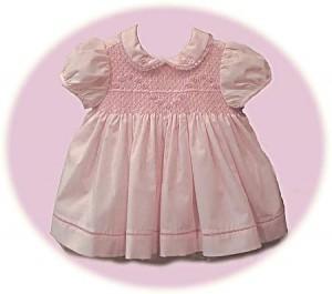Toddler's smocked dress