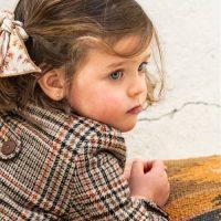 Girl's smart winter coat