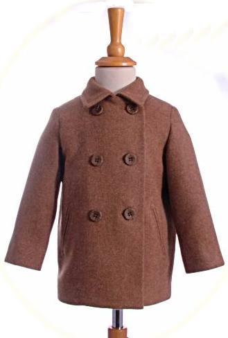 Little boy's short coat