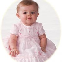 Baby's hand smocked dress