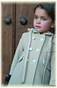 child's coat with hood